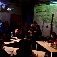 CONCRETE IN THE CREEK (Interactive Art Gallery Exhibit)