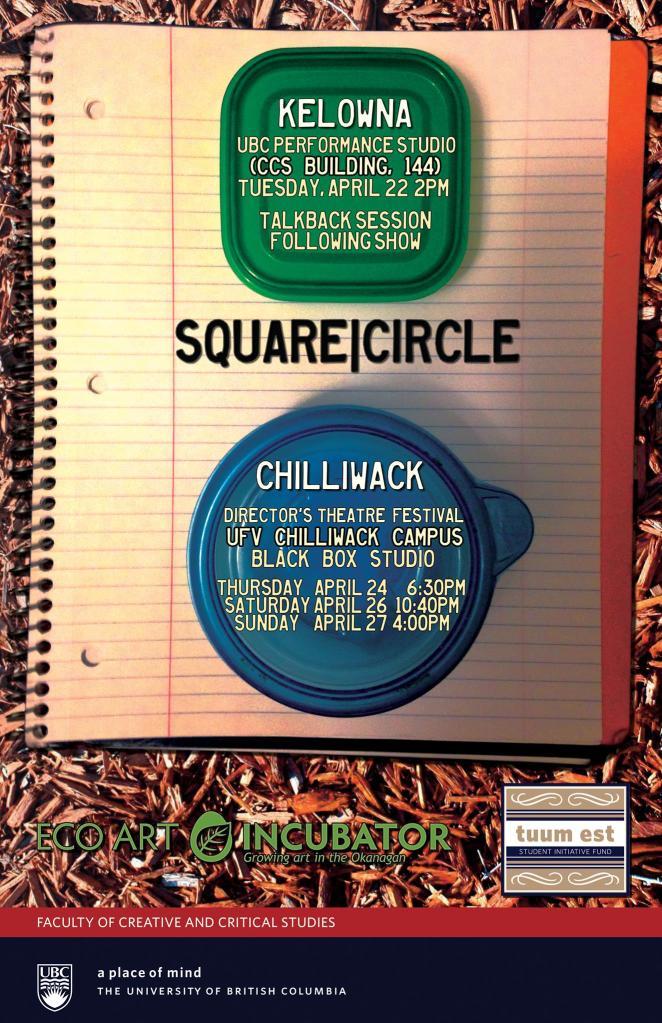 Square|Circle poster